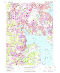Download a high-resolution, GPS-compatible USGS topo map for East Greenwich, RI (1977 edition)