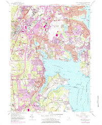 Download a high-resolution, GPS-compatible USGS topo map for East Greenwich, RI (1984 edition)