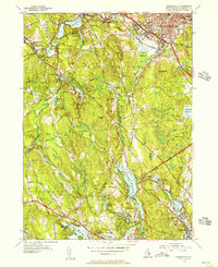 Download a high-resolution, GPS-compatible USGS topo map for Georgiaville, RI (1956 edition)