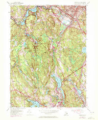 Download a high-resolution, GPS-compatible USGS topo map for Georgiaville, RI (1972 edition)