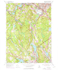 Download a high-resolution, GPS-compatible USGS topo map for Georgiaville, RI (1976 edition)