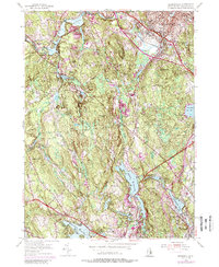 Download a high-resolution, GPS-compatible USGS topo map for Georgiaville, RI (1988 edition)