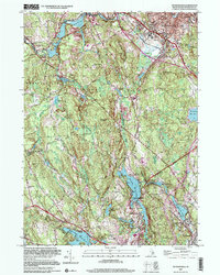 Download a high-resolution, GPS-compatible USGS topo map for Georgiaville, RI (2000 edition)