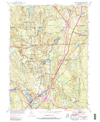 Download a high-resolution, GPS-compatible USGS topo map for Hope Valley, RI (1987 edition)