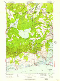 Download a high-resolution, GPS-compatible USGS topo map for Kingston, RI (1957 edition)