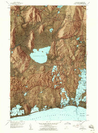 Download a high-resolution, GPS-compatible USGS topo map for Kingston, RI (1959 edition)