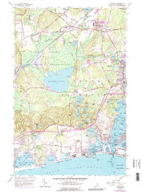 Download a high-resolution, GPS-compatible USGS topo map for Kingston, RI (1988 edition)