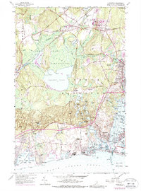 Download a high-resolution, GPS-compatible USGS topo map for Kingston, RI (1989 edition)