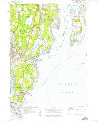 Download a high-resolution, GPS-compatible USGS topo map for Narragansett Pier, RI (1959 edition)
