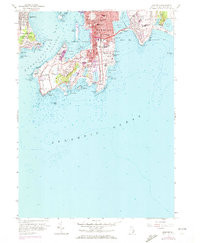 Download a high-resolution, GPS-compatible USGS topo map for Newport, RI (1972 edition)