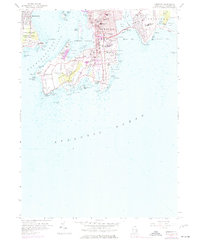 Download a high-resolution, GPS-compatible USGS topo map for Newport, RI (1977 edition)