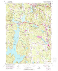 Download a high-resolution, GPS-compatible USGS topo map for North Scituate, RI (1988 edition)
