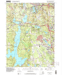 Download a high-resolution, GPS-compatible USGS topo map for North Scituate, RI (2000 edition)