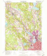 Download a high-resolution, GPS-compatible USGS topo map for Pawtucket, RI (1973 edition)