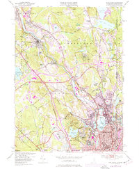 Download a high-resolution, GPS-compatible USGS topo map for Pawtucket, RI (1977 edition)