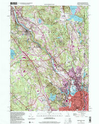 Download a high-resolution, GPS-compatible USGS topo map for Pawtucket, RI (2000 edition)