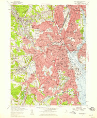 Download a high-resolution, GPS-compatible USGS topo map for Providence, RI (1959 edition)
