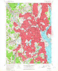 Download a high-resolution, GPS-compatible USGS topo map for Providence, RI (1967 edition)
