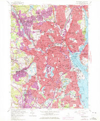 Download a high-resolution, GPS-compatible USGS topo map for Providence, RI (1972 edition)