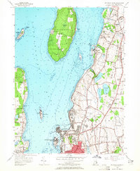 Download a high-resolution, GPS-compatible USGS topo map for Prudence Island, RI (1965 edition)