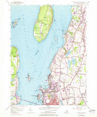 Download a high-resolution, GPS-compatible USGS topo map for Prudence Island, RI (1973 edition)
