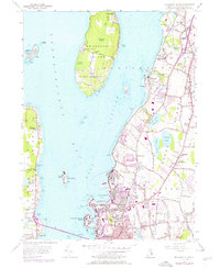 Download a high-resolution, GPS-compatible USGS topo map for Prudence Island, RI (1976 edition)