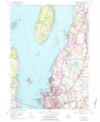Download a high-resolution, GPS-compatible USGS topo map for Prudence Island, RI (1984 edition)