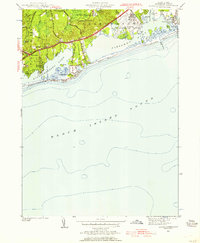 Download a high-resolution, GPS-compatible USGS topo map for Quonochontaug, RI (1957 edition)