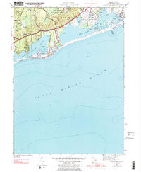 Download a high-resolution, GPS-compatible USGS topo map for Quonochontaug, RI (1983 edition)