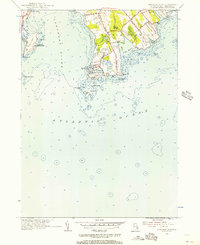 Download a high-resolution, GPS-compatible USGS topo map for Sakonnet Point, RI (1956 edition)