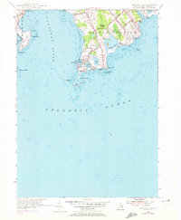 Download a high-resolution, GPS-compatible USGS topo map for Sakonnet Point, RI (1972 edition)