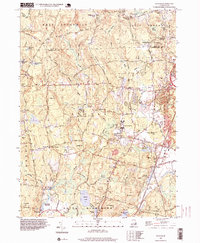 Download a high-resolution, GPS-compatible USGS topo map for Slocum, RI (1999 edition)