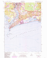 Download a high-resolution, GPS-compatible USGS topo map for Watch Hill, RI (1985 edition)