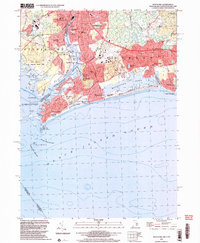 Download a high-resolution, GPS-compatible USGS topo map for Watch Hill, RI (2003 edition)