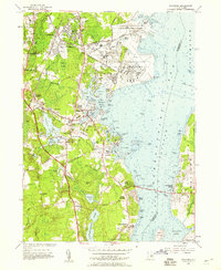 Download a high-resolution, GPS-compatible USGS topo map for Wickford, RI (1959 edition)
