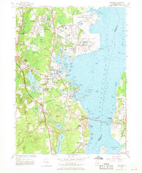 Download a high-resolution, GPS-compatible USGS topo map for Wickford, RI (1968 edition)
