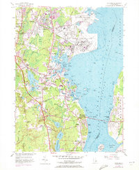 Download a high-resolution, GPS-compatible USGS topo map for Wickford, RI (1972 edition)