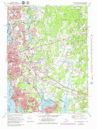 Download a high-resolution, GPS-compatible USGS topo map for East Providence, RI (1979 edition)
