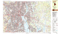 Download a high-resolution, GPS-compatible USGS topo map for Providence, RI (1987 edition)