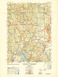 Download a high-resolution, GPS-compatible USGS topo map for Slocum, RI (1950 edition)