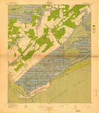 Download a high-resolution, GPS-compatible USGS topo map for Fort Moultrie, SC (1919 edition)