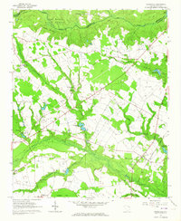 Download a high-resolution, GPS-compatible USGS topo map for Dovesville, SC (1964 edition)