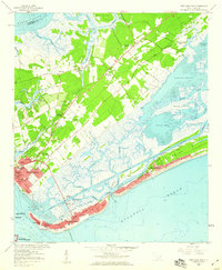 Download a high-resolution, GPS-compatible USGS topo map for Fort Moultrie, SC (1960 edition)