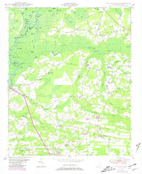 Download a high-resolution, GPS-compatible USGS topo map for Galivants Ferry, SC (1981 edition)
