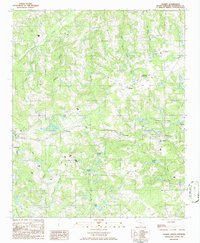 Download a high-resolution, GPS-compatible USGS topo map for Gilbert, SC (1986 edition)