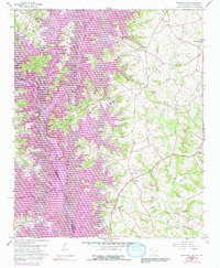 Download a high-resolution, GPS-compatible USGS topo map for Hartwell NE, SC (1991 edition)