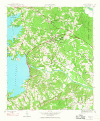 Download a high-resolution, GPS-compatible USGS topo map for Irmo, SC (1968 edition)