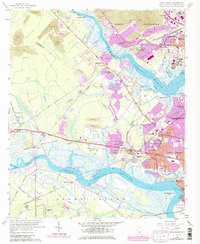 Download a high-resolution, GPS-compatible USGS topo map for Johns Island, SC (1979 edition)