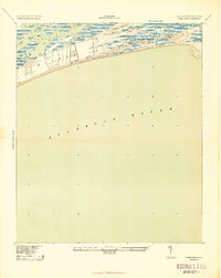 Download a high-resolution, GPS-compatible USGS topo map for Kiawah Island, SC (1943 edition)