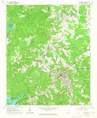 Download a high-resolution, GPS-compatible USGS topo map for Mc Cormick, SC (1967 edition)